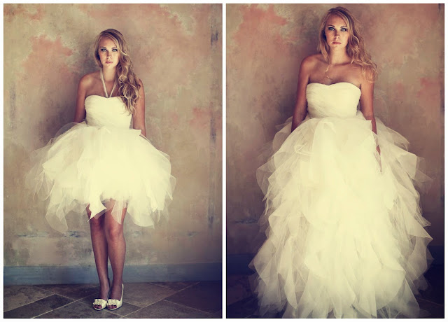 Organza Sweetheart with Lavish Ruffles Ball Gown 2 in 1 Wedding Gown