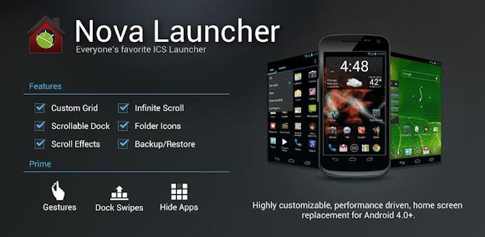 Launcher yang Cepat untuk Android RAM Kecil