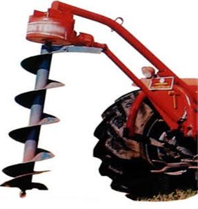 Videos barreno ahoyador tractor