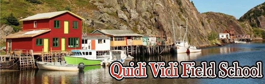 Quidi Vidi Field School
