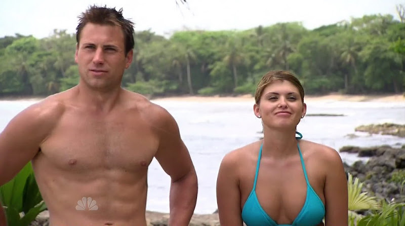 Skip Sullivan Shirtless in Love in the Wild s1e07