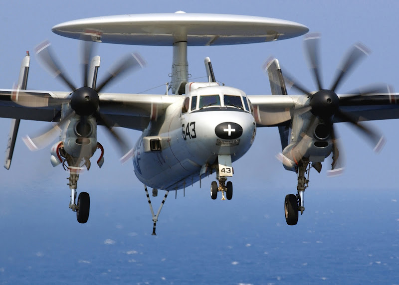 E-2C Hawkeye Airborne Early-warning Aircraft