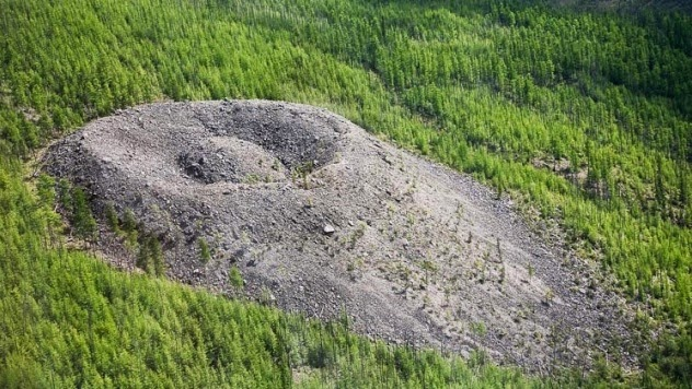Patomskiy Krateri