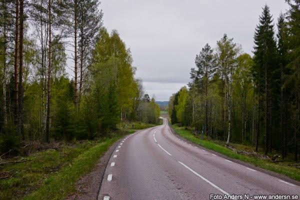 värmland, skog, värmländsk, väg, landsväg