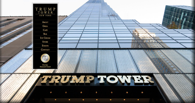 Site Trump Tower sofre interrupção após aviso do Anonymous