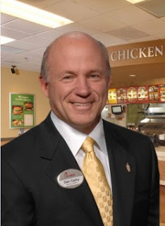 Dan Kathy President of Chick-Fil-A
