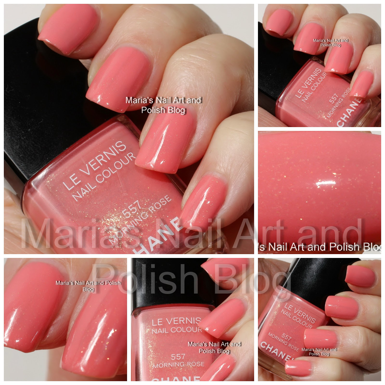 Chanel Morning Rose 557 Les Fleurs d\u0027Ete summer 2011 collection swatches
