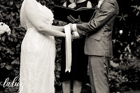 The handfasting of Serena and Nathaniel