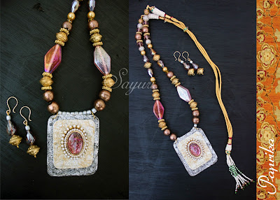 traditional paper necklace
