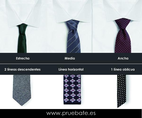 Distintos tipos de corbata, distinta imagen proyectada | Pruebate ...
