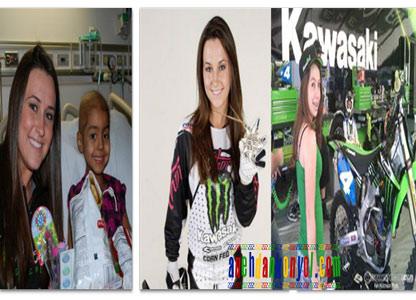Pembalap Motocross Tercantik Dunia, Sara Price