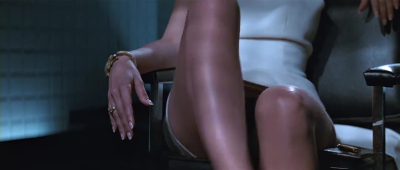 Sharon Stone as Catherine Tramell Basic Instinct 1992 movieloversreview.blogspot.com