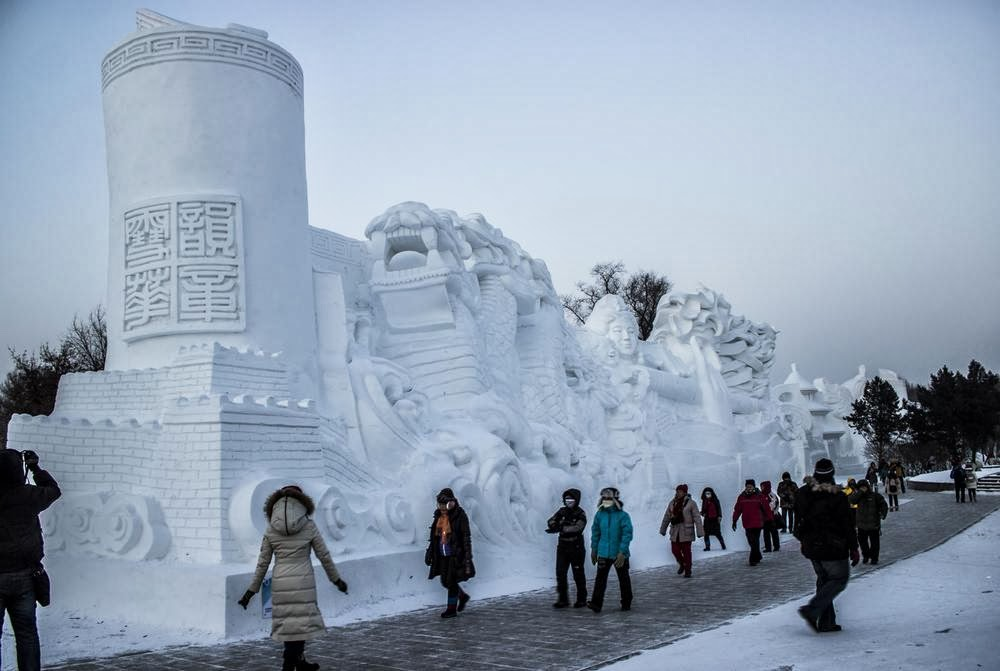 Family Travel Blog A Guide To The Harbin Snow And Ice