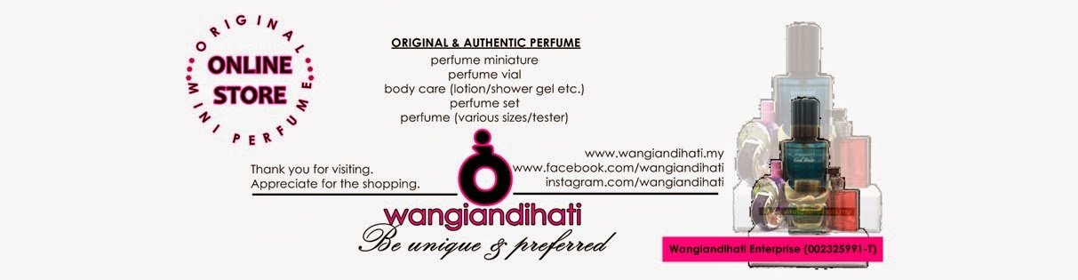 WANGIANDIHATI - Your online perfume selection store. Original perfumes & Le Inspired Fragrance.