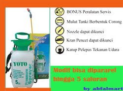 SPRAYER YOTO 5 L