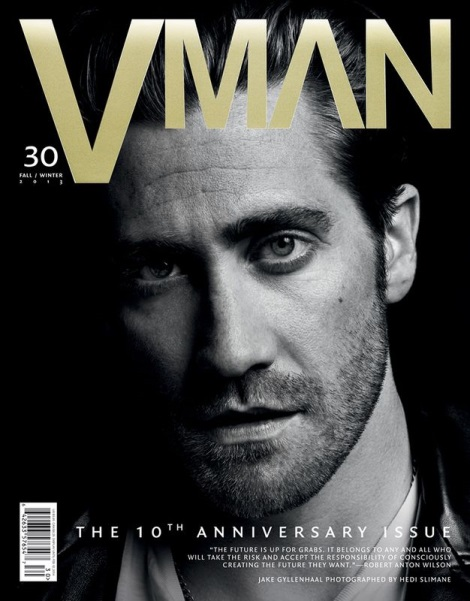 Jake Gyllenhaal by Hedi Slimane for VMan Magazine No.30