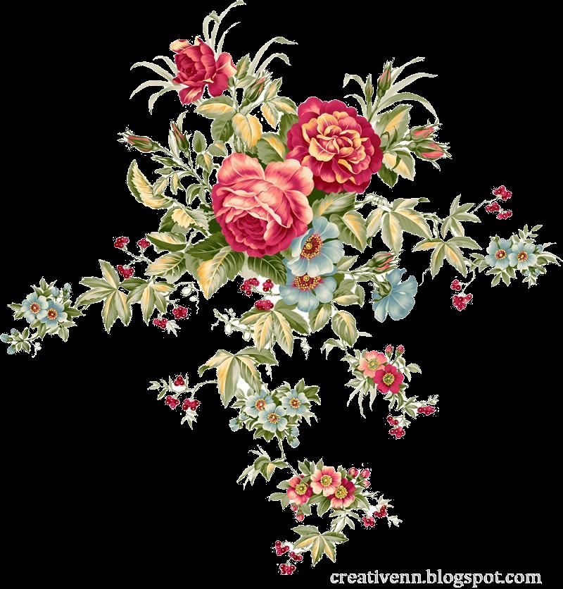 Клипарты цветы. Картинки для декупажа ...: creativenn.blogspot.com/2012/02/blog-post_4509.html