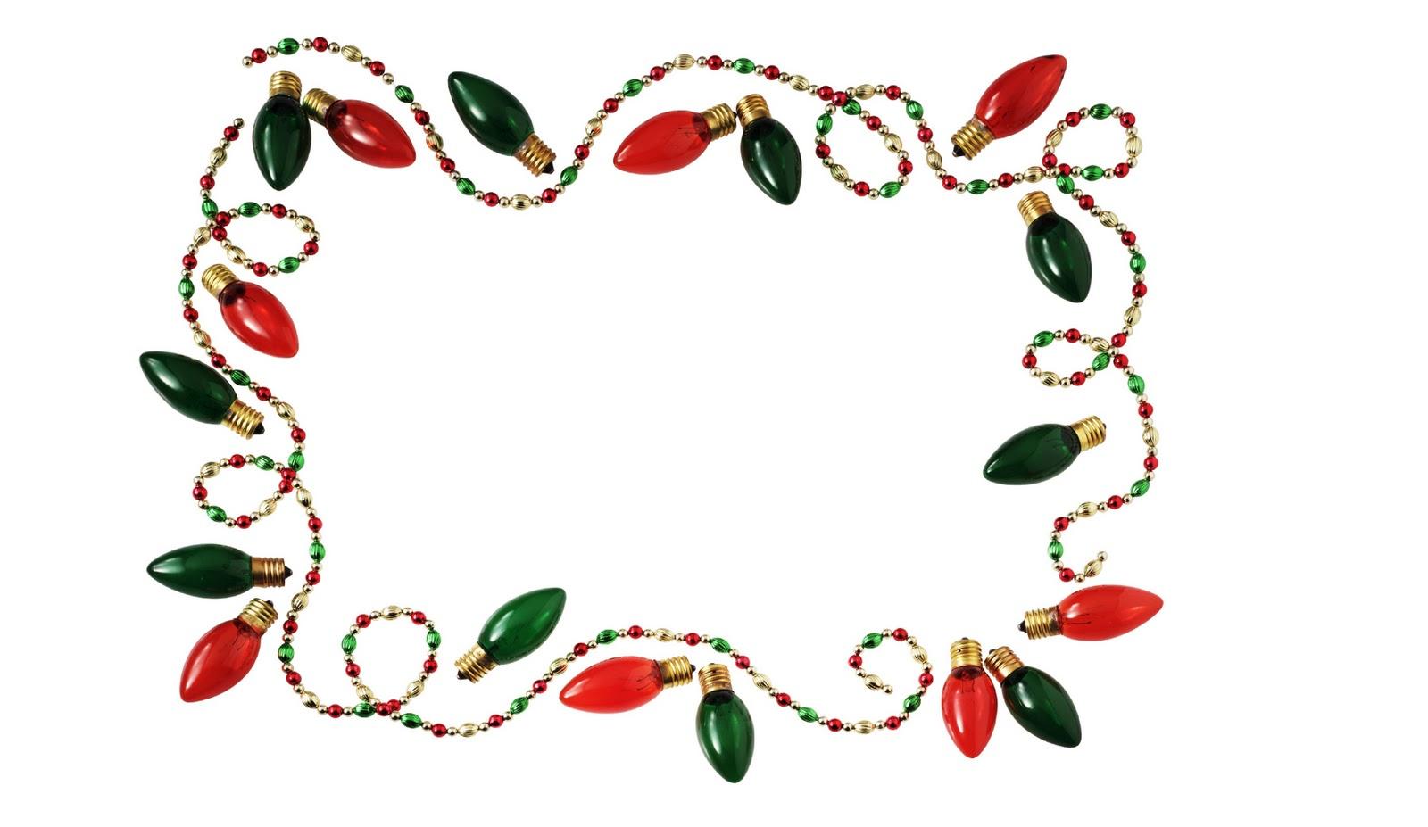 Christmas lights frame HD Wallpaper ~ The Wallpaper Database