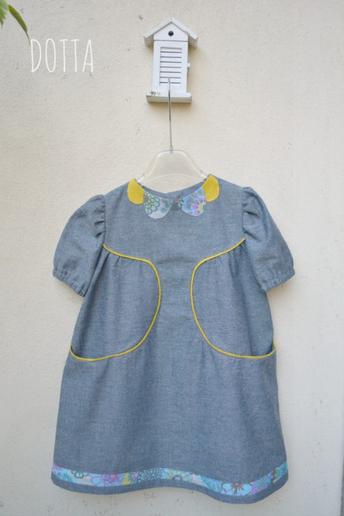 Brooklyn Pattern Co., Franklin Dress {sewn by: Dotta}