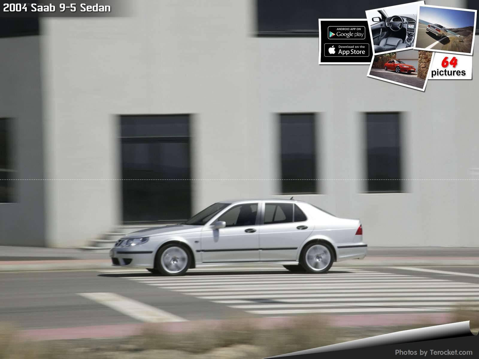 Hình ảnh xe ô tô Saab 9-5 Sedan 2004 & nội ngoại thất