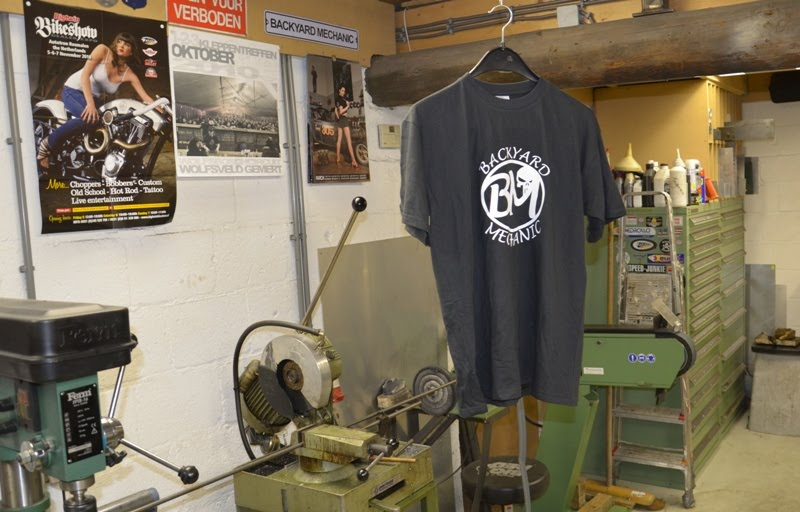 Backyard Mechanic: Backyard Mechanic T-shirts, BM by ...