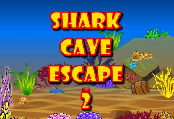 Games2Attack  Shark Cave Escape 2