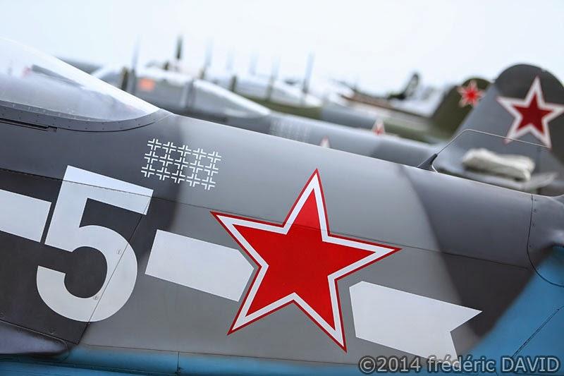 Yakovlev Yak3 Yak11 avions anciens vintage WWII meeting aérien La ferté-Alais Essonne