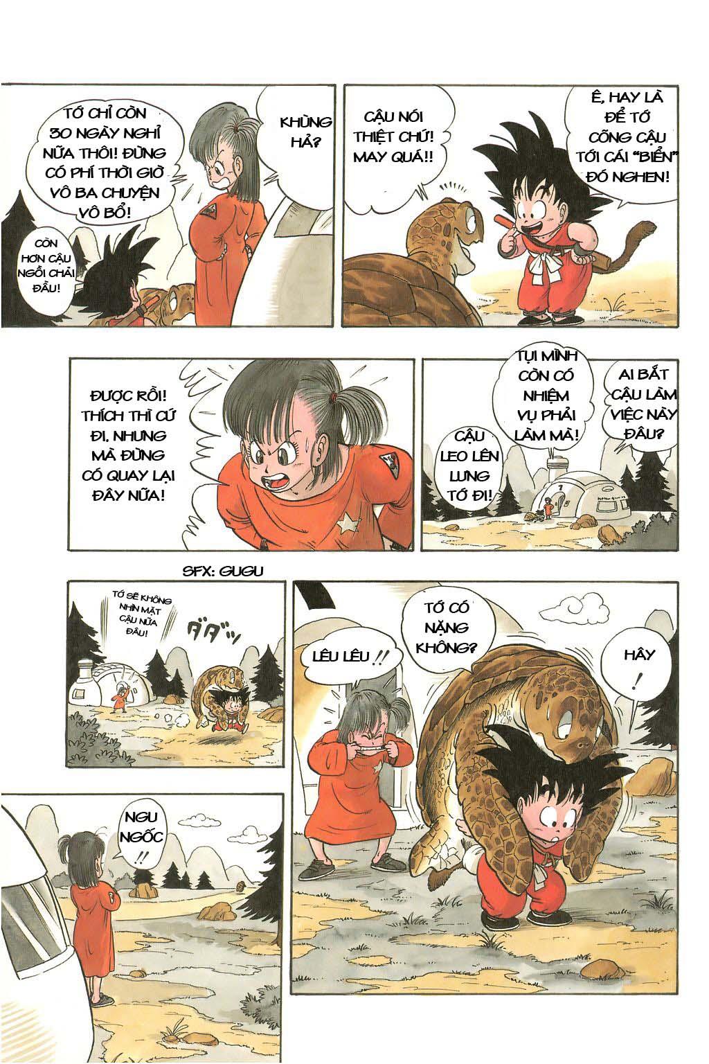xem truyen moi - Dragon Ball Bản Vip - Bản Đẹp Nguyên Gốc Chap 3