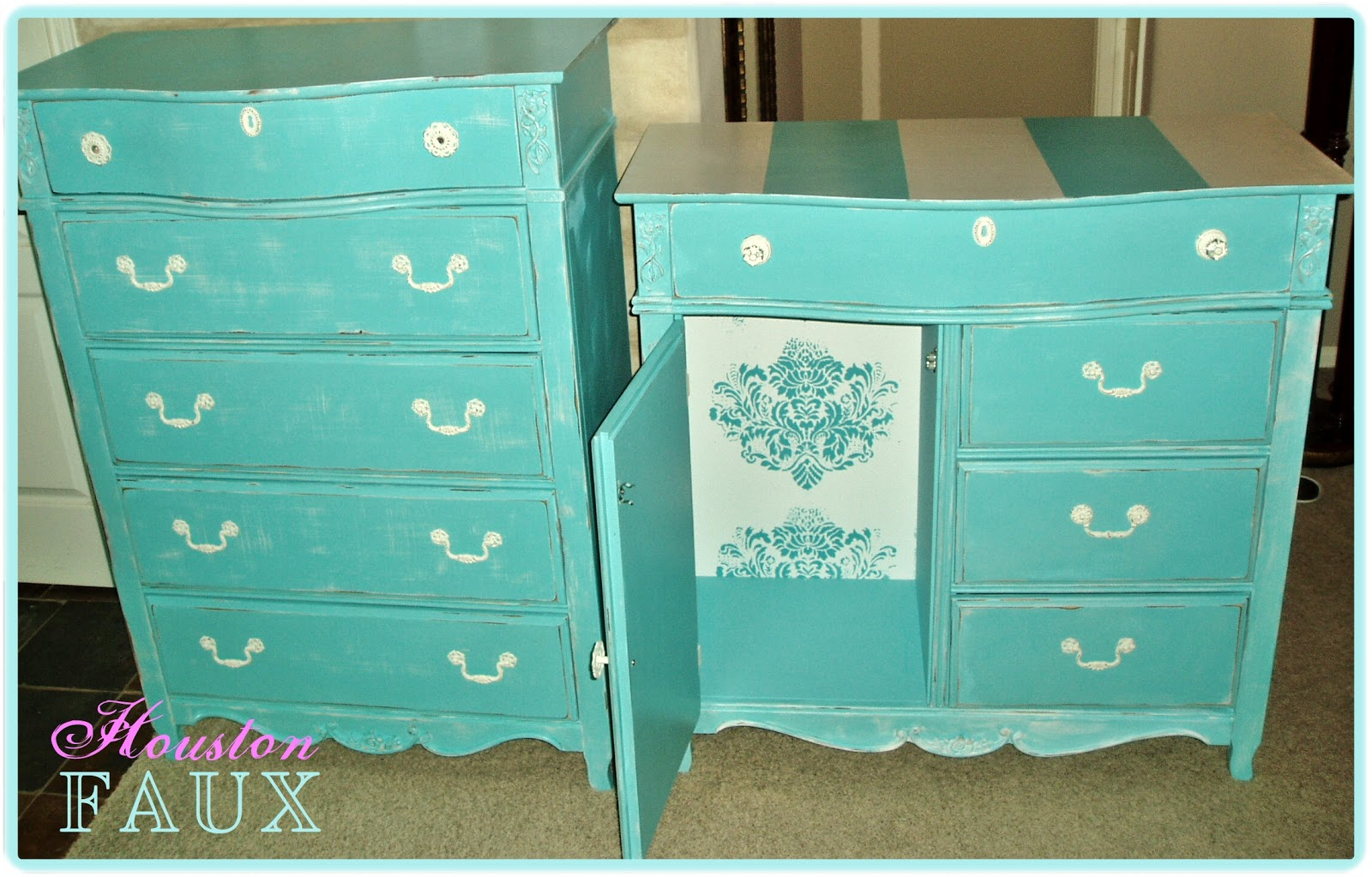 Faux Painting Furniture Sold