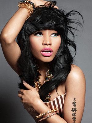 Nicki Minaj Tattoos