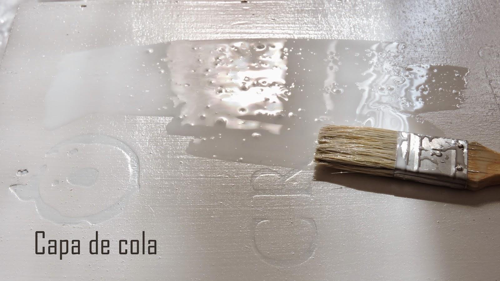 Aplicar cola