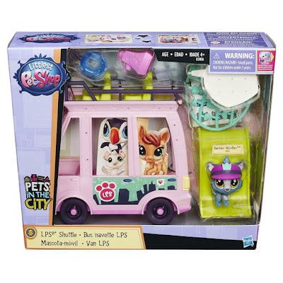 TOYS : JUGUETES - LITTLEST PETSHOP El bus de las pets : Pets en la ciudad | Mascota-móvil LPS Shuttle : Pets in the city Producto Oficial 2016 | Hasbro B3806 | A partir de 4 años Comprar en Amazon España & buy Amazon USA