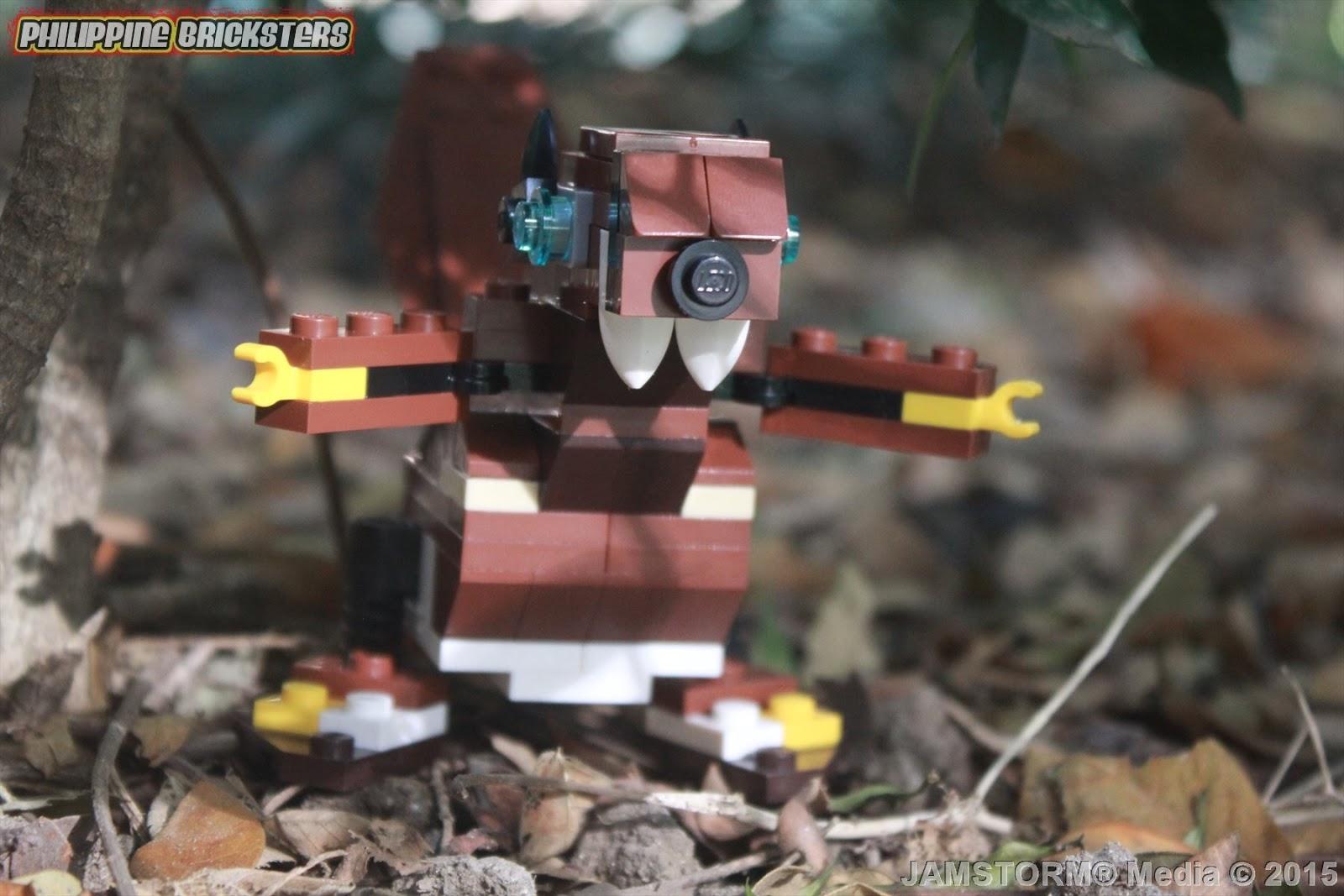 Philippine Bricksters Lego Creator 31004 Beaver