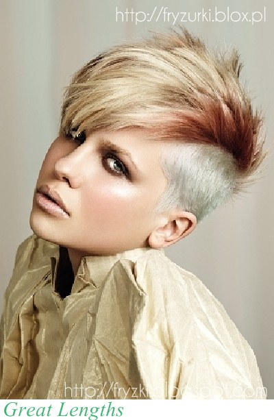 The Appealing Short Funky Hairstyles 2015 Images