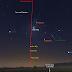 Mặt Trăng sẽ nằm giữa Sao Mộc và sao Aldebaran vào sáng sớm ngày 2/8