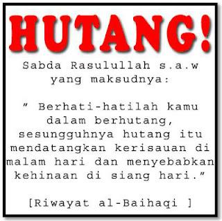 Hukum Utang Piutang Dalam Islam