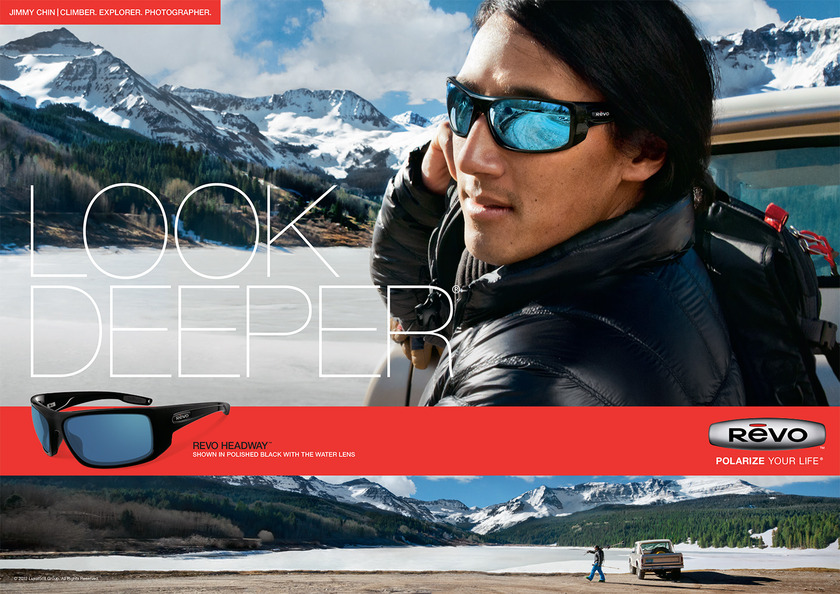 Jimmy Chin in Revo Campaign