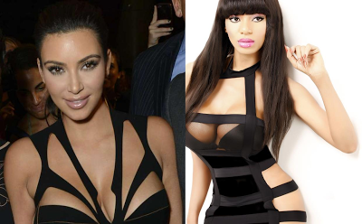 Anything under the Capet between Pop singer Dencia & Kim Kardashian?