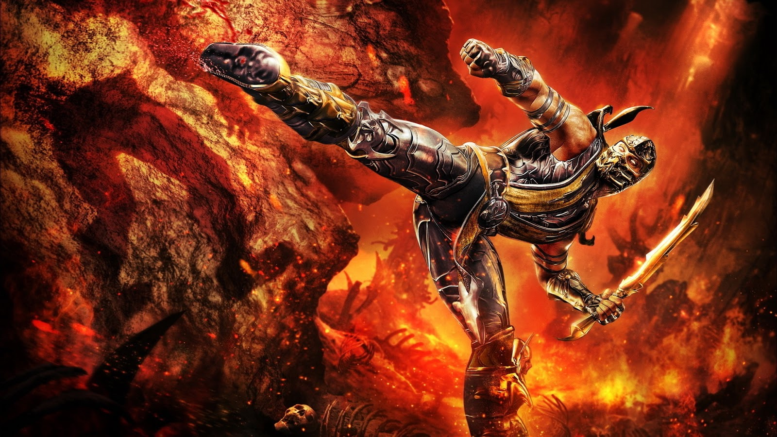 Mortal Combat Scorpion