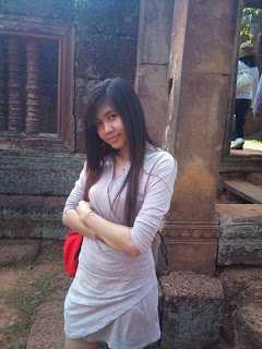 Thara Chheng student at University of Battambang