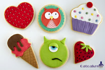 Curso galletas fondant Madrid- Iniciación