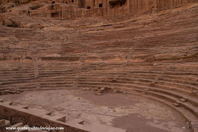Teatro de Petra - Viaje a Jordania