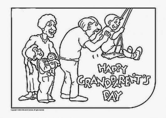 grandparents day coloring pages amp activities for kids family holiday