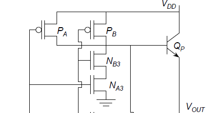 Signals and Systems Working of BICMOS NAND GATE