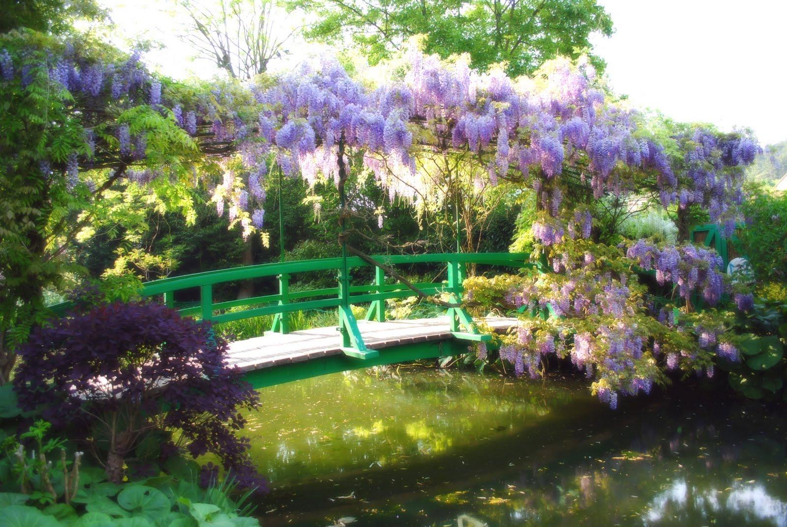 Di qua e di la il giardino di claude monet giverny in - Giardino delle ninfee ...