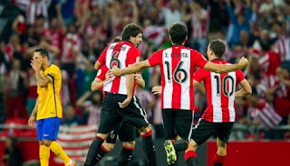 Athletic Bilbao vs Barcelona 4-0 Piala Super Spanyol 2015