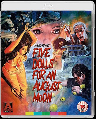 Five Dolls For An August Moon Blu-ray cover