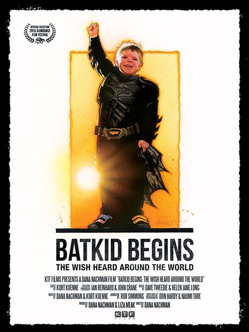 Batkid Begins Documentary Theatrical One Sheet Movie Poster by Drew Struzan
