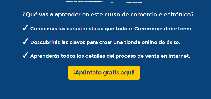 Gratis curso de comercio electronico