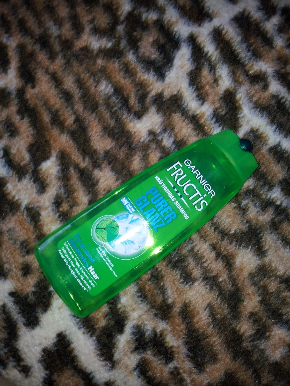 GARNIER FRUCTIS Odżywczy szampon bez silikonów i parabenów
